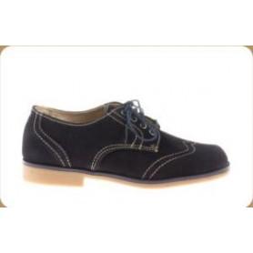 zapato blucher serraje